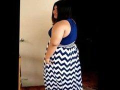 Bbw ameena big bloated belly