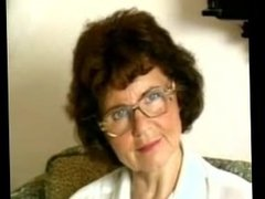 Granny (A German One) Pleasures Herself