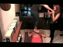 Two Girls Are Heavier Than One (Stomach Demolition)