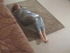 Duct tape mummification