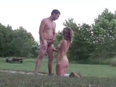 Public Anal and Face Fucking in the Great Outdoors for slut Nicole Rossi