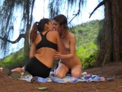 Kristen.and.Nina - Forest nymphs 02-09-16
