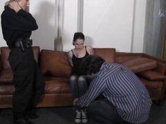 Amanda Arrested by Officer Morina part 1