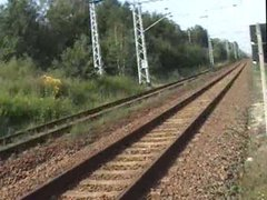 Humping the railway at the crossing