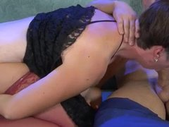 fat russian mature slut loves hard hot anal creampie