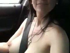 Mi Mujer Mostrando Los Senos