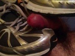 A bit cum on my Nike Dart 6