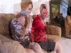 Mother and Daughter tied gagged - trailer