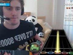 Hardcore guy fucks Guitar Hero straight up the ass