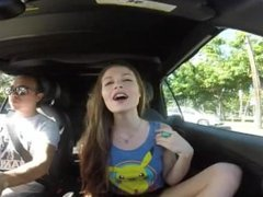 Burping in the car
