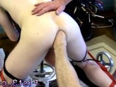 Gay porn movie one ass two penis First Time Saline Injection for Caleb