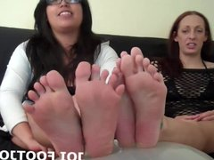I know you have been dreaming about worshiping my feet