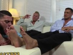 Teen boys sucking on guys toes videos gay Johnny and Joey both have size