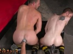 Hunk fist bondage video gay Like the good fuck-a-thon pigs they are, they