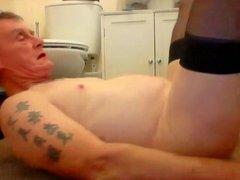 sissy ken self facial pee