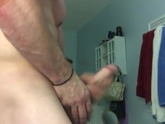 Tim K's Muscle and Cum Show, Featuring His 10-Inch Cock! Flex and Cum Joy