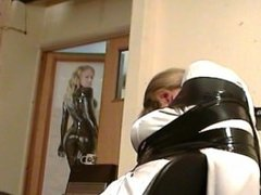 Nicci Tape Gagged and Taped to Chair in Secretary Clothes.wmv