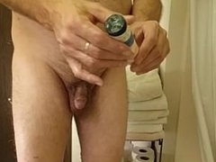 Bottle in ass - punishment - soap - for the ladies
