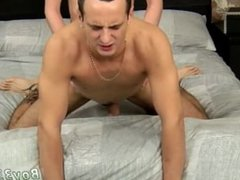 Gay boy in boxer movies Luke Takes Long Cock Up His Hole!