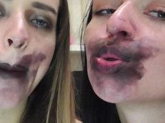 Black Lipstick Makeout 9