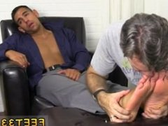 Toes licked young black boys and how about some gay feet video clips it