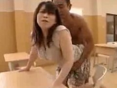 ASIAN GIRL FUCKING IN SCHOOL...
