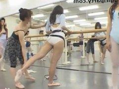 Asian dancer ballet, masturbatin in class remote control vibrator