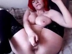 Hot Teen with Red hair Masturbate more at FreeSexyCamWhores_com