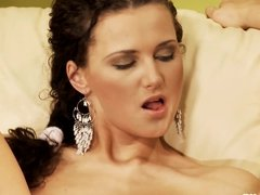 Torrid Threesome by Sapphic Erotica - lesbian love porn with