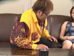 Married Japanese Woman Fucked by Her Psychic (Uncensored JAV)