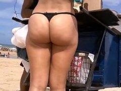 Brazillian Booty Black thong..OMG!!