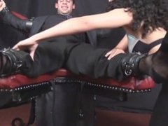 sexy latina tickles guy
