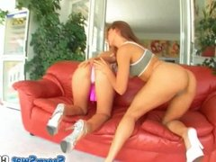 Sperm Swap Teen babes do pussy to mouth and fucked hard