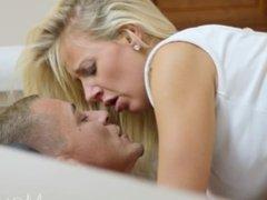 MOM Romantic Fuck for Leggy Blonde MILF