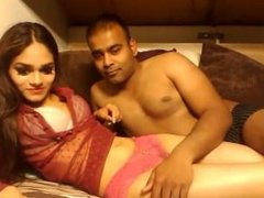 Hottest indian couple on cam most beautiful girl getting fingered