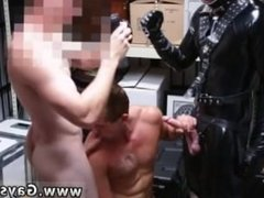 Straight gay twinks boys rubbing penises Dungeon master with a gimp
