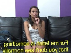Lola Interviews Kamilla & Tests Her Ass Eating Skills w/ English Subtitles
