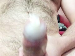 cum in a condom! - by request