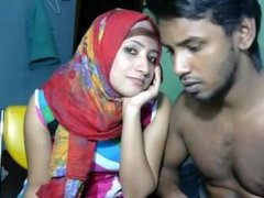 Newly married south indian couple with ultra hot babe WebCam Show (6)