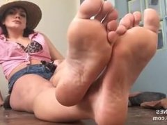 Cowgirl feet joi
