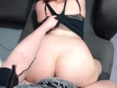 BBW big tits webcam fuck