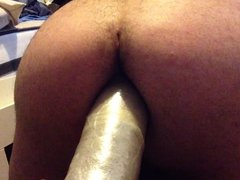 Dildoing my butt