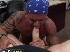 Straight guy naked by machine gay Some rough looking biker guy came into