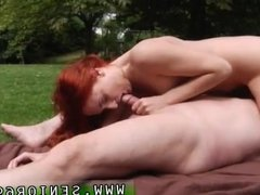 Young guy fucks old woman and old and young