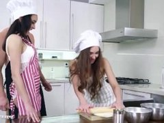 Stacy Snake and Francys Belle Share an Anal Creampie