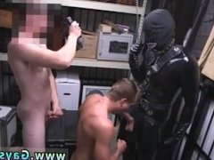 Amatuer straight gay sex Dungeon sir with a gimp