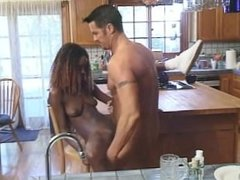 White Guy Banging Sexy Black Babe Hard After Getting His Dick Sucked