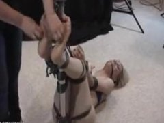 Ballgag tickling 2