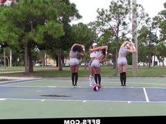 BFFS - Hot Big Ass BFFS Lick And Bounce Asses
