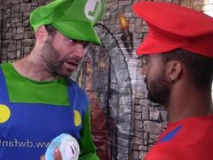 Power-Up Plumbers - a Gay XXX Cosplay Mario Bros Parody